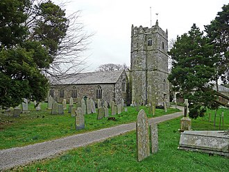 St Teath - St Tetha's church, exterior