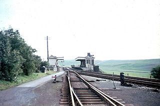 Parsley Hay railway station Former railway station in Derbyshire, England