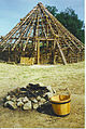 Partial Reconstruction of Pictish Hut, Archeolink. - geograph.org.uk - 113079.jpg