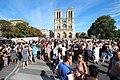 Parvis Notre-Dame fermé par la police à Paris le 14 août 2016 - 02.jpg