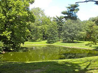Pastorius Park - Pond in Pastorius Park