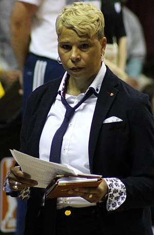 Shelley Patterson - Patterson at the 2017 WNBA Finals