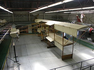 History of the South African Air Force - Replica of the Patterson No. 2 Biplane at the South African Air Force Museum