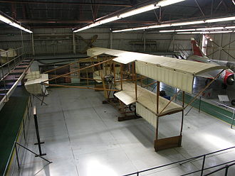 South African Air Force Museum - Image: Patterson No 2 Biplane Replica 001