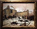 Paul grolleron, attacco a un castello da parte delle guardie mobili, 1870.jpg