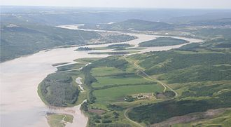 Peace River - Peace River at Peace River, Alberta