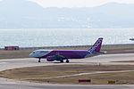 Peach Aviation ,MM15 ,Airbus A320-214 ,JA801P ,Departed to Busan ,Kansai Airport (16809160391).jpg