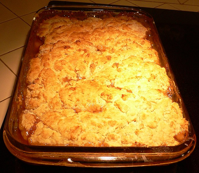 File:Peach cobbler (cropped).jpg