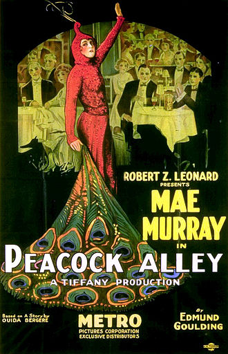 Peacock Alley (1922 film) - Poster