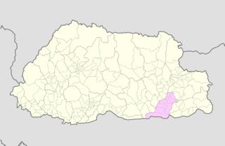 Shumar Gewog Gewogs in Pemagatshel District, Bhutan