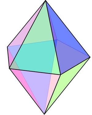 Pentagonal bipyramid - Image: Pentagonale bipiramide