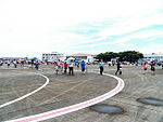 People Walking on Chiayi Air Force Base Apron 20120811.jpg