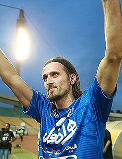 Pero Pejić Croatian footballer