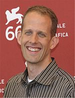 Photo of Pete Docter in 2009.