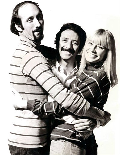 Picture of a band or musician: Peter, Paul & Mary