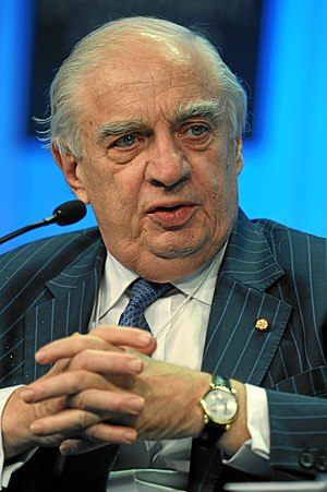 Director-General of the World Trade Organization - Image: Peter Sutherland 2011