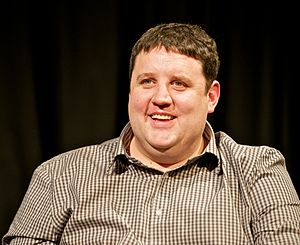 Peter Kay comedy masterclass at University of Salford 12 December 2012.jpg