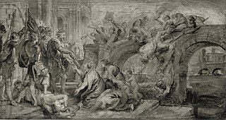The Entry in Paris by Henry IV
