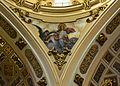 Petxina amb sant Joan Evangelista, església de sant Valeri de Russafa.JPG