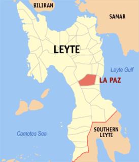 La Paz, Leyte Municipality in Eastern Visayas, Philippines