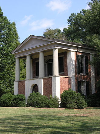 Davidson College - Philanthropic Hall (shown) and Eumenean Hall are on the National Register of Historic Places