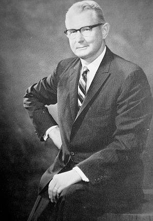 University of Houston System - Philip G. Hoffman, first chancellor of UH System