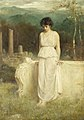Philip Hermogenes Calderon - Her eyes are with her heart and that is far away.jpg