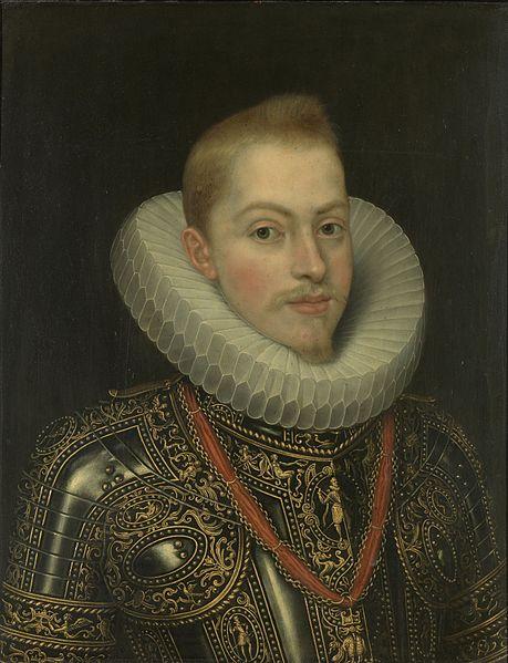 Felipe III por Frans Pourbus el Joven.