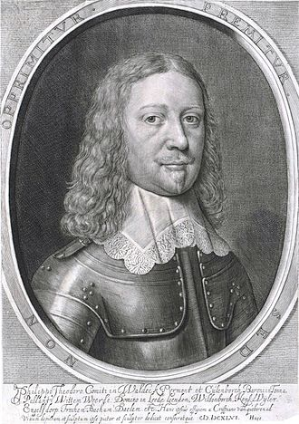 Philip Dietrich, Count of Waldeck - Image: Philipp Theodor Waldeck