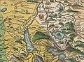 Philipp Apian - Bairische Landtafeln von 1568 - Tafel 22 Miesbach Tegernsee Schliersee.jpg
