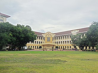Philippine Normal University - The Main Building of the Philippine Normal University in Manila.