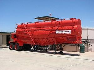 Phos-Chek - A Phos-Chek tank trailer at Ramona Airport