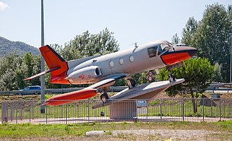 Piaggio PD.808 - A PD.808 preserved at Lucca, Italy