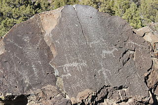 Picture Rock Pass Petroglyphs Site place in Oregon listed on National Register of Historic Places