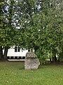 Piemiņas akmens Klāvam Elsbergam pie Staiceles vidusskolas, 14.07.2016 - panoramio.jpg