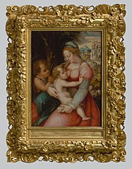 Madonna with Child and John the Baptist