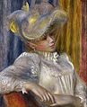 Pierre-Auguste Renoir - Woman with a Hat - Google Art Project.jpg