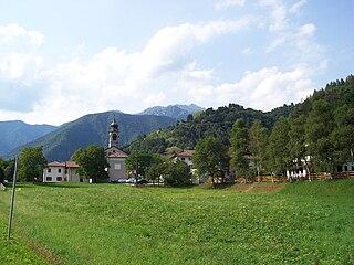 Pieve di Ledro Frazione in Trentino-Alto Adige/Südtirol, Italy