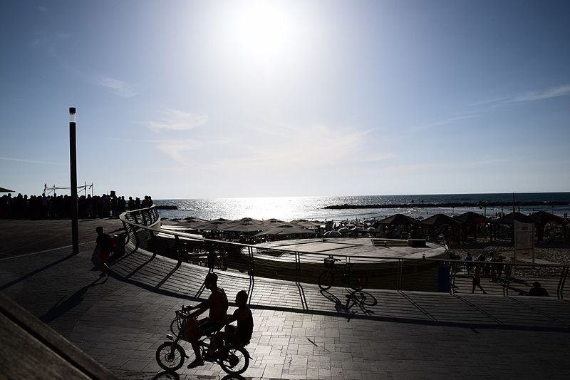 חוף פרישמן תל אביב
