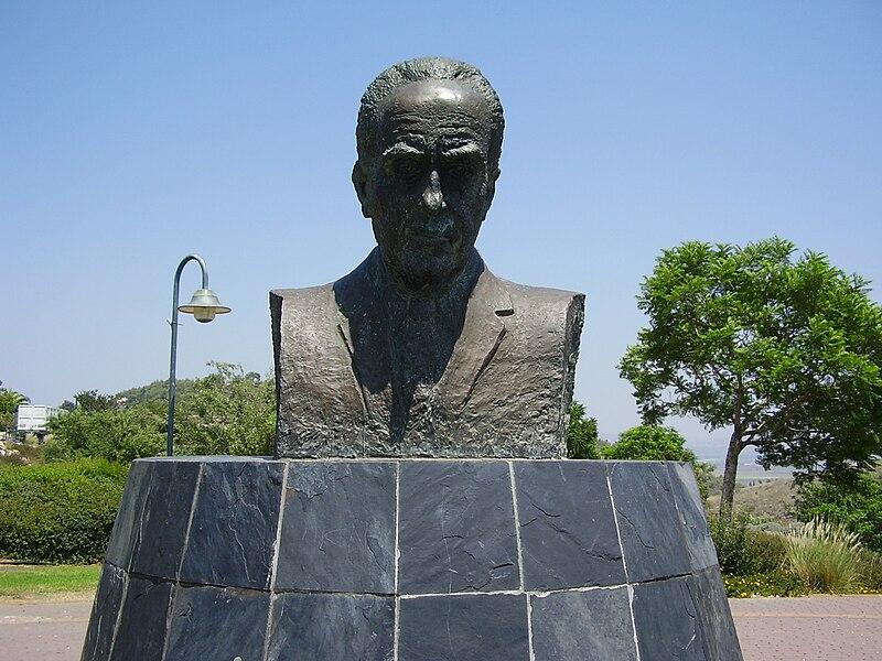 פסל  יצחק רבין