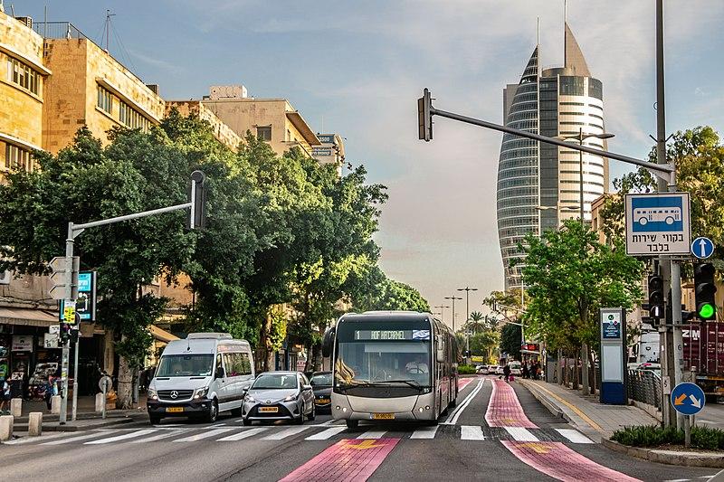 חיפה, דרך העצמאות