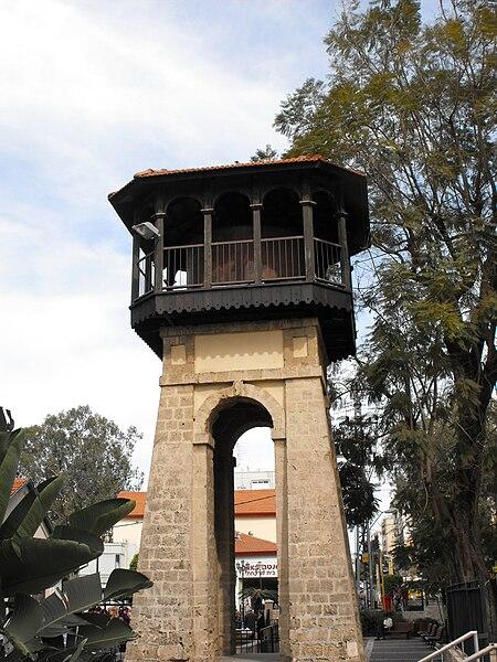 מגדל המים הראשון בראשון-לציון