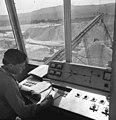 Pilisvörösvár 1975, dolomitbánya. Fortepan 60506.jpg