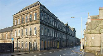 Dunfermline - Former Pilmuir Works textile mill