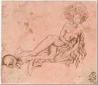 Pisanello - Allegory of Luxuria (recto), c. 1426 - Google Art Project.jpg