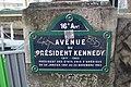 Plaque avenue Président Kennedy Paris 2.jpg