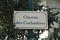 Plaque chemin Cochatières St Cyr Menthon 1.jpg