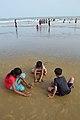 Playful Children - New Digha Beach - East Midnapore 2015-05-01 8823.JPG