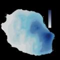 Pluviométrie annuelle moyenne à La Réunion.png