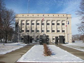 Pocahontas, Iowa - Pocahontas County Courthouse